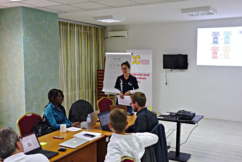Certification workshop held in Belgrade